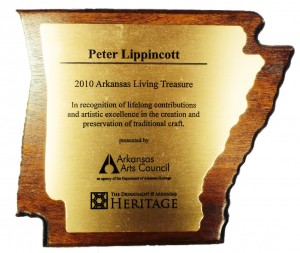 Living Treasure Plaque